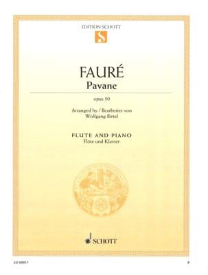 Gabriel Fauré - Pavane Op. 50 - Flute - Sheet Music - di-arezzo.com