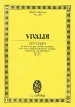 Concerto D-Dur - Antonio Vivaldi - Partition - laflutedepan.com