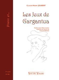 Les Jeux de Gargantua Claude-Henry Joubert Partition laflutedepan