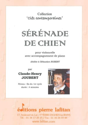 Claude-Henry Joubert - Serenade of Dog - Sheet Music - di-arezzo.com