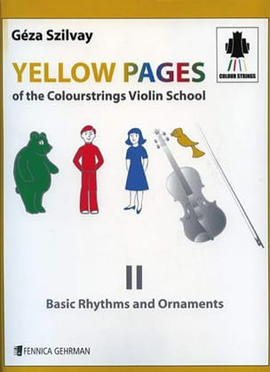 Yellow Pages Of The Colourstrings Violin School Book 2 - laflutedepan.com