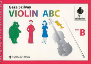 Violin Abc Book B - Geza Szilvay - Partition - laflutedepan.com