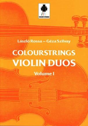 Laszlo et Szilvay Géza Rossa - Violin Duos Vol 1 - Sheet Music - di-arezzo.com