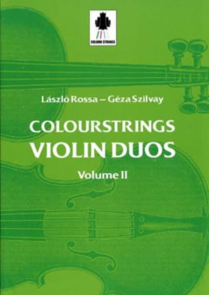 Violin Duos Vol 2 Laszlo et Szilvay Géza Rossa Partition laflutedepan
