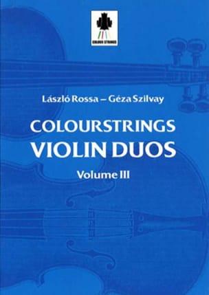 Violin Duos Vol 3 - Laszlo et Szilvay Géza Rossa - laflutedepan.com