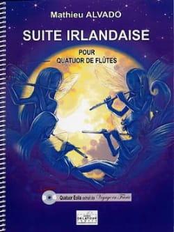 Suite Irlandaise Mathieu Alvado Partition laflutedepan