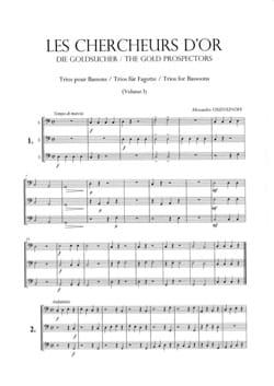 Alexandre Ouzounoff - Les Chercheurs D'or Volume 1 - Partition - di-arezzo.fr