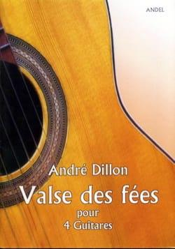 Valse des Fées André Dillon Partition Guitare - laflutedepan