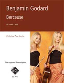 Berceuse Benjamin Godard Partition Duos - laflutedepan