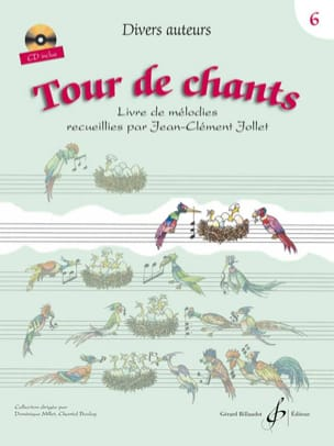 Jean-Clément Jollet - Tour de Chants Volume 6 - Partition - di-arezzo.fr
