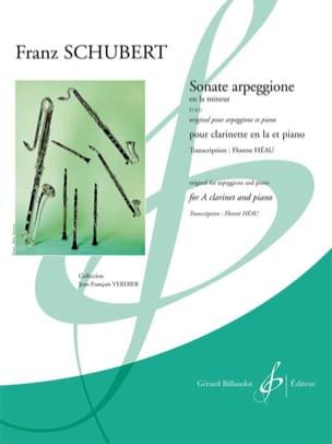 Franz Schubert - Sonata Arpeggione in the Min. D.821 (Clarinet and Piano Version) - Sheet Music - di-arezzo.co.uk