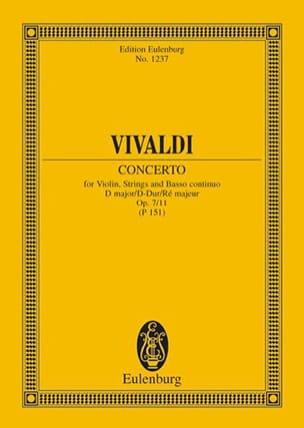 Concerto D-Dur - VIVALDI - Partition - Petit format - laflutedepan.com