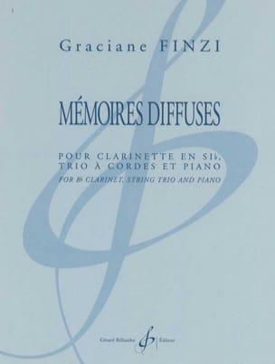 Graciane Finzi - Mémoire Diffuses - Partition - di-arezzo.fr