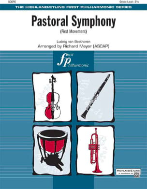 BEETHOVEN - Pastoral Symphony First Movement - Score - Parts - Sheet Music - di-arezzo.com