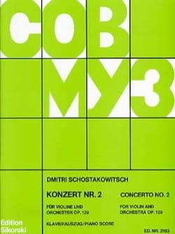 CHOSTAKOVITCH - Concierto para violín No. 2 Op. 129 - Partitura - di-arezzo.es