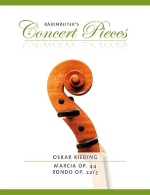 Oskar Rieding - Marcia - Rondo - Sheet Music - di-arezzo.co.uk