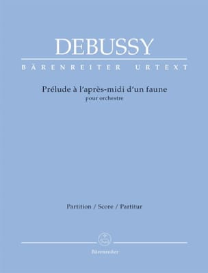 DEBUSSY - Prelude to the Afternoon of a Faun - Sheet Music - di-arezzo.co.uk