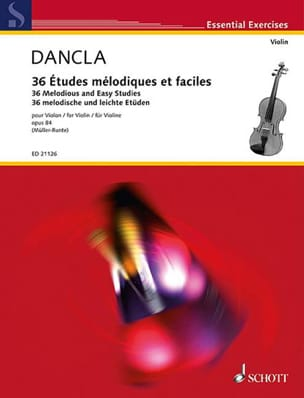 DANCLA - 36 Melodic and Easy Studies Op.84 - Sheet Music - di-arezzo.co.uk