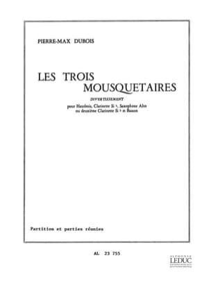 Les 3 Mousquetaires - Pierre-Max Dubois - Partition - laflutedepan.com
