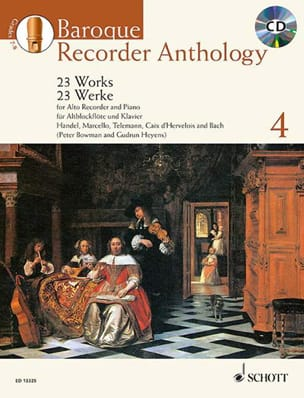 Baroque Recorder Anthology Volume 4 Partition laflutedepan