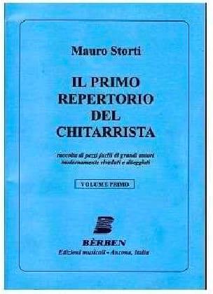 - Il Primo Repertorio del Chitarrista, Volume 1 - Partition - di-arezzo.fr