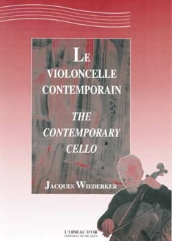 Jacques Wiederker - The Contemporary Cello - Sheet Music - di-arezzo.com