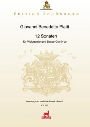 Giovanni Benedetto Platti - 12 Sonates Volume 1 - Partition - di-arezzo.fr