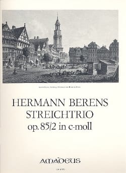 Hermann Berens - String Trio Opus 85 N ° 2 in D Minor - Sheet Music - di-arezzo.com