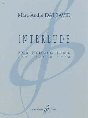 Interlude - Marc-André Dalbavie - Partition - laflutedepan.com