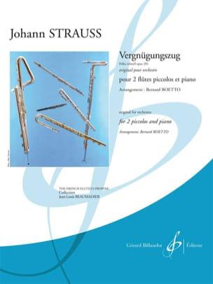 Johann (Fils) Strauss - Vergnügungszug - Polka Schnell Op. 281 - Partition - di-arezzo.fr