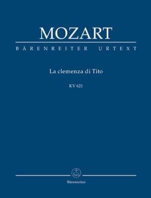 Wolfgang Amadeus Mozart - La Clemenza Di Tito - Partition - di-arezzo.fr
