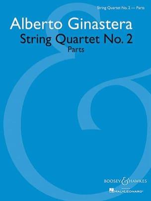 Alberto Ginastera - Quatuor A Cordes N° 2 Op. 26 - Partition - di-arezzo.fr