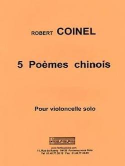 Robert Coinel - 5 poemas chinos - Partitura - di-arezzo.es