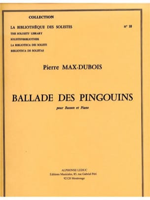 Pierre-Max Dubois - Ballad of Penguins - Sheet Music - di-arezzo.co.uk