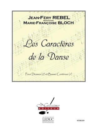 Rebel Jean-Ferry / Bloch Ernest - Les Caractères de la Danse - Partition - di-arezzo.fr