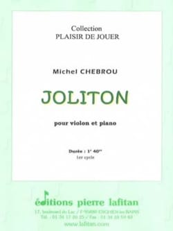 Michel Chebrou - Joliton - Sheet Music - di-arezzo.co.uk