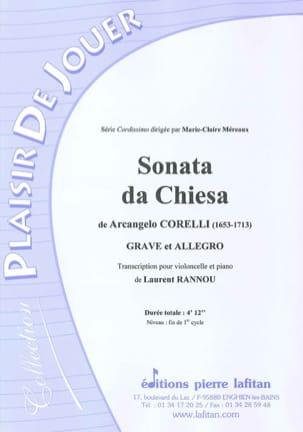 Arcangelo Corelli - Sonata Da Chiesa - Partition - di-arezzo.fr