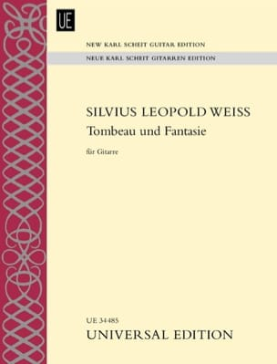Silvius Leopold Weiss - Tombeau Und Fantasie - Partition - di-arezzo.fr