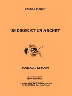 Pascal Proust - A Sharp and an Arch - Sheet Music - di-arezzo.com