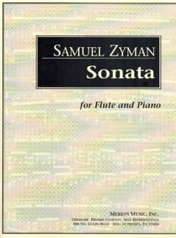 Sonata - Samuel Zyman - Partition - laflutedepan.com