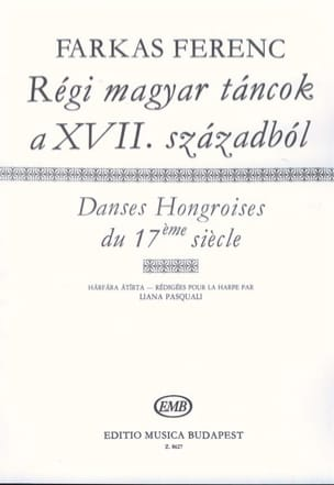 Ferenc Farkas - Ancient Hungarian Dances of the 17th Century - Sheet Music - di-arezzo.com