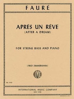 Gabriel Fauré - After a dream - Sheet Music - di-arezzo.co.uk