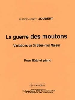 Claude-Henry Joubert - The Sheep War - Sheet Music - di-arezzo.com