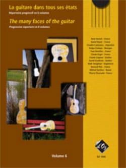 - La Guitare Dans Tous Ses Etats Volume 6 - Partition - di-arezzo.fr