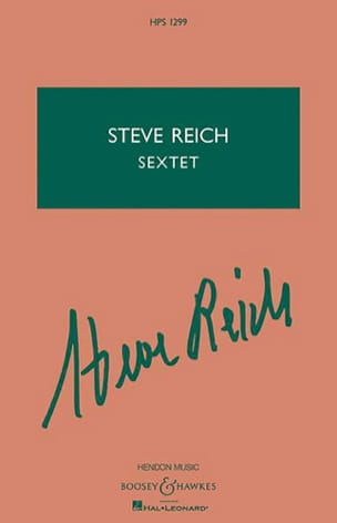 Sextet - Studienpartitur - Steve Reich - Partition - laflutedepan.com