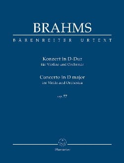 BRAHMS - Concierto en re mayor Op. 77 - Partitura - di-arezzo.es