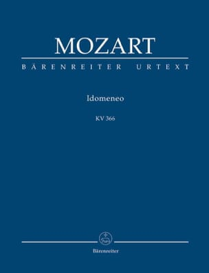 MOZART - Idomeneo Kv 366 - Sheet Music - di-arezzo.co.uk