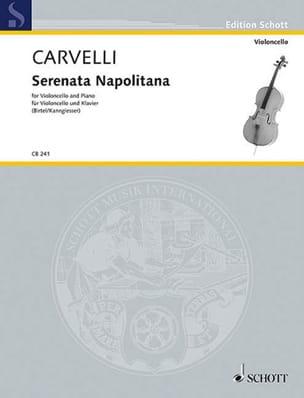 Luigi Carvelli - Serenata Napolitana - Partition - di-arezzo.fr