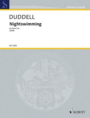 Joe Duddell - Nightswimming 2008 - Partitura - di-arezzo.it