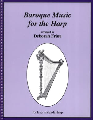 Baroque Music for the Harp - Partition - Harpe - laflutedepan.com